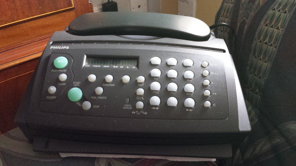 Phone/fax/answering machine
