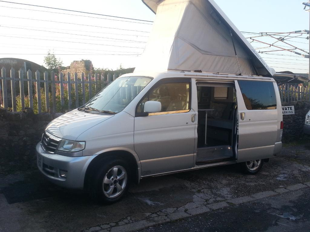 mazda bongo camper new shape low mileage