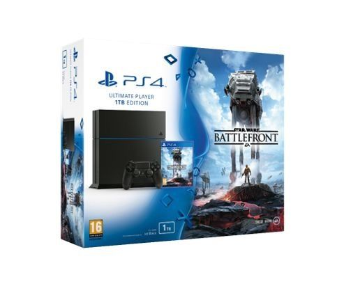 PS4 Star Wars Battle Front Bundle 1TB - unopened unwanted gift