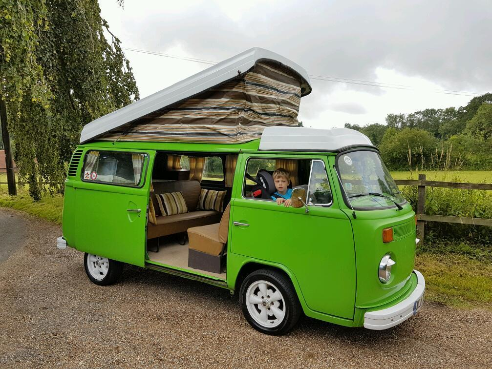 1979 VW camper with Westfalia pop top