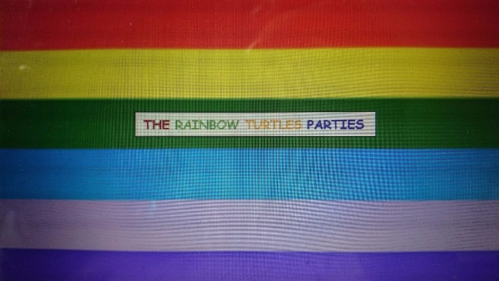 The rainbow turtle parties. Childrens parties