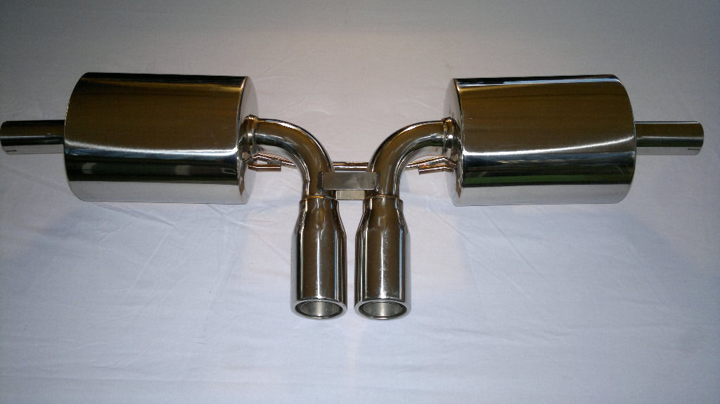 PORSCHE 986 BOXSTER 2.5 2.7 3.2 STAINLESS STEEL CATBACK EXHAUST SYSTEM