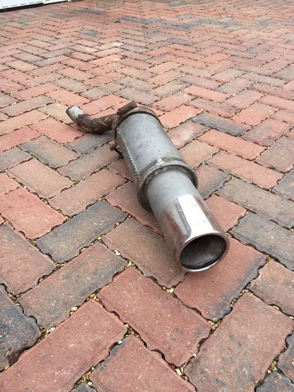 Universal Sports Exhaust/Silencer/Back Box