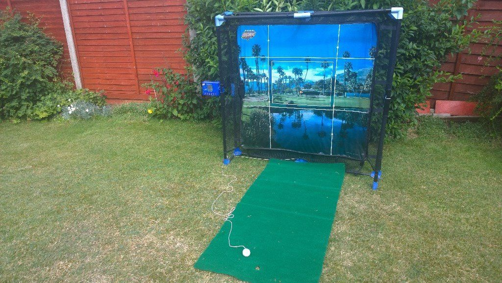 Golf practice/game. Get your clubs out and practice in the garden. 1 or 2 players. 4'x4'x18""