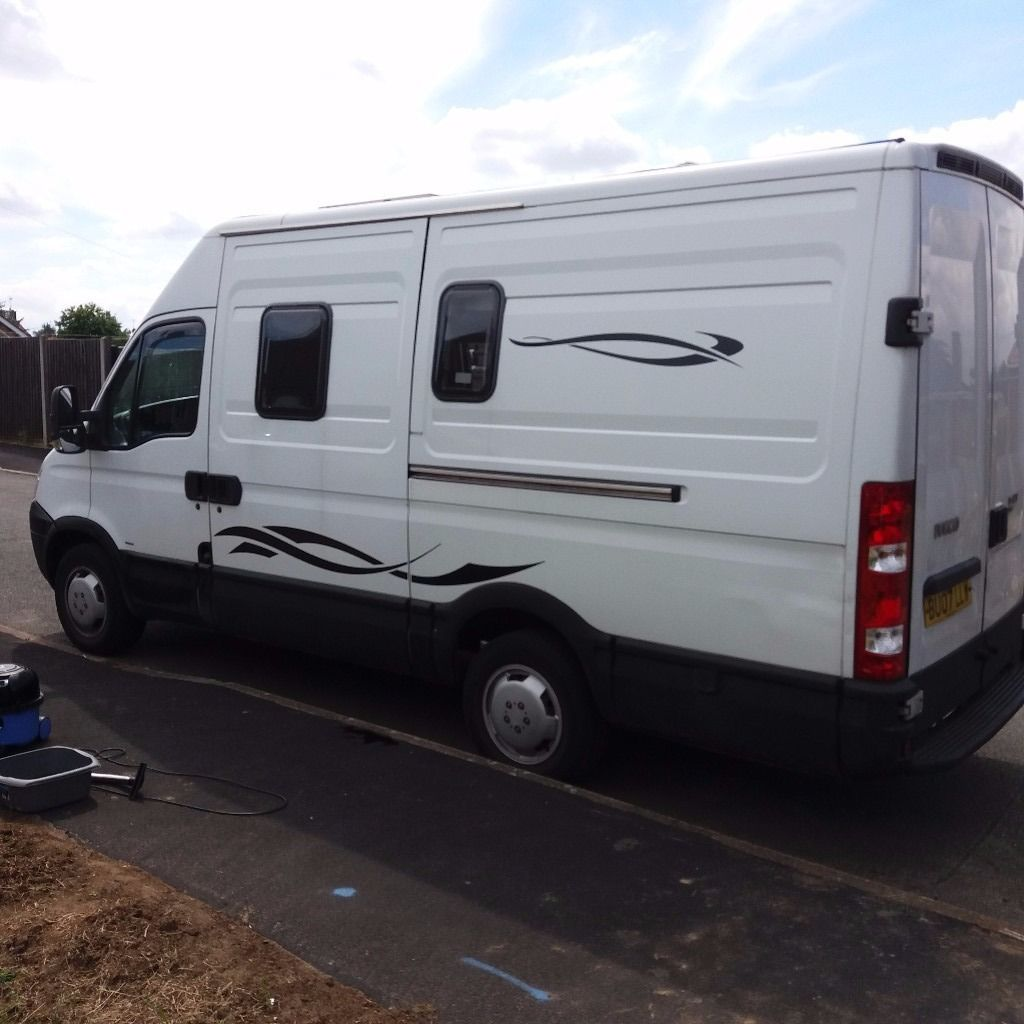 Iveco Daily 35S 12 MWB motor caravan,right hand drive manual diesel 2007