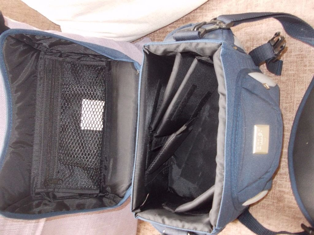 quality camera case/ holdall fitted insidw