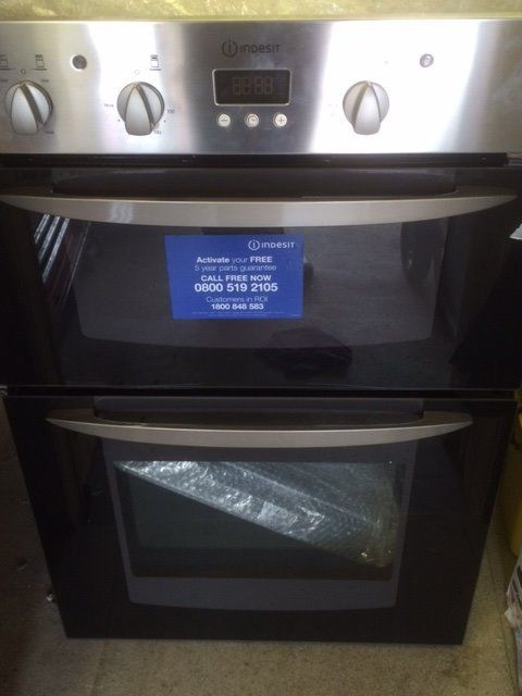 Indesit double oven (NEW)