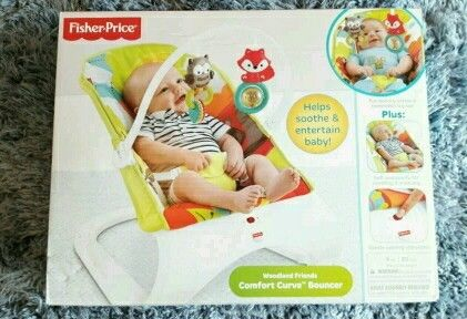 Fisher Price Woodland Friends Bouncer *Brand New*