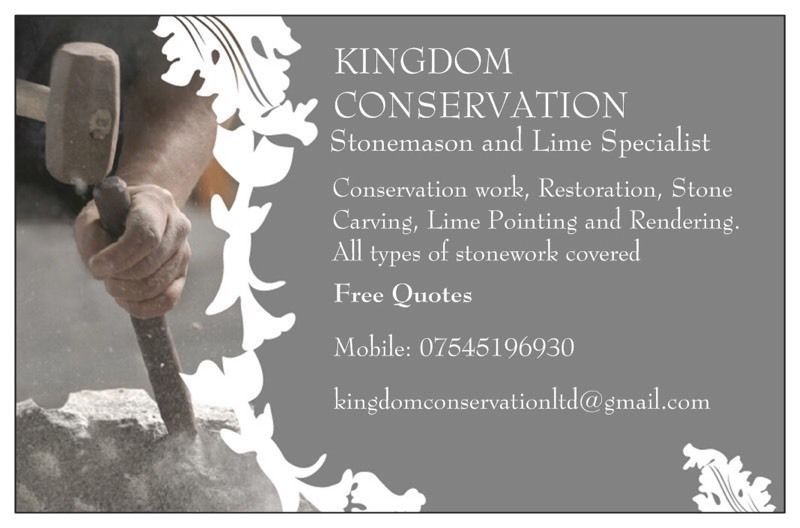 Kingdom Conservation - Stonemason and Lime Specialist