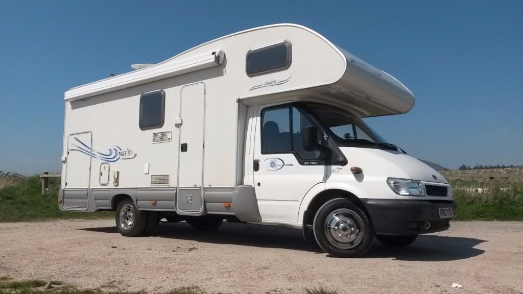 2002 RIMOR NG5 EUROPEO Transit Twin Rear Wheel - LHD Diesel