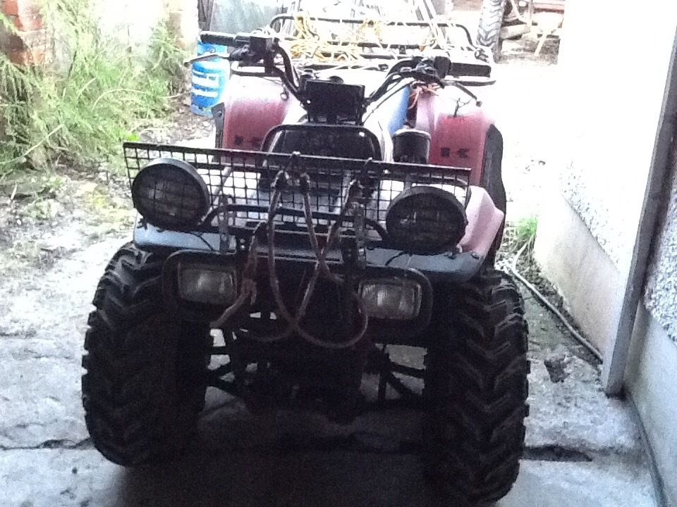 Kawasaki klf 3004x4quad 1997 in very good order new tyres all round elf start fist time every time