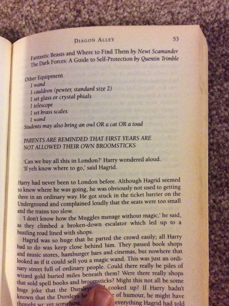 Rare typo in Harry Potter and the Philosopher's Stone