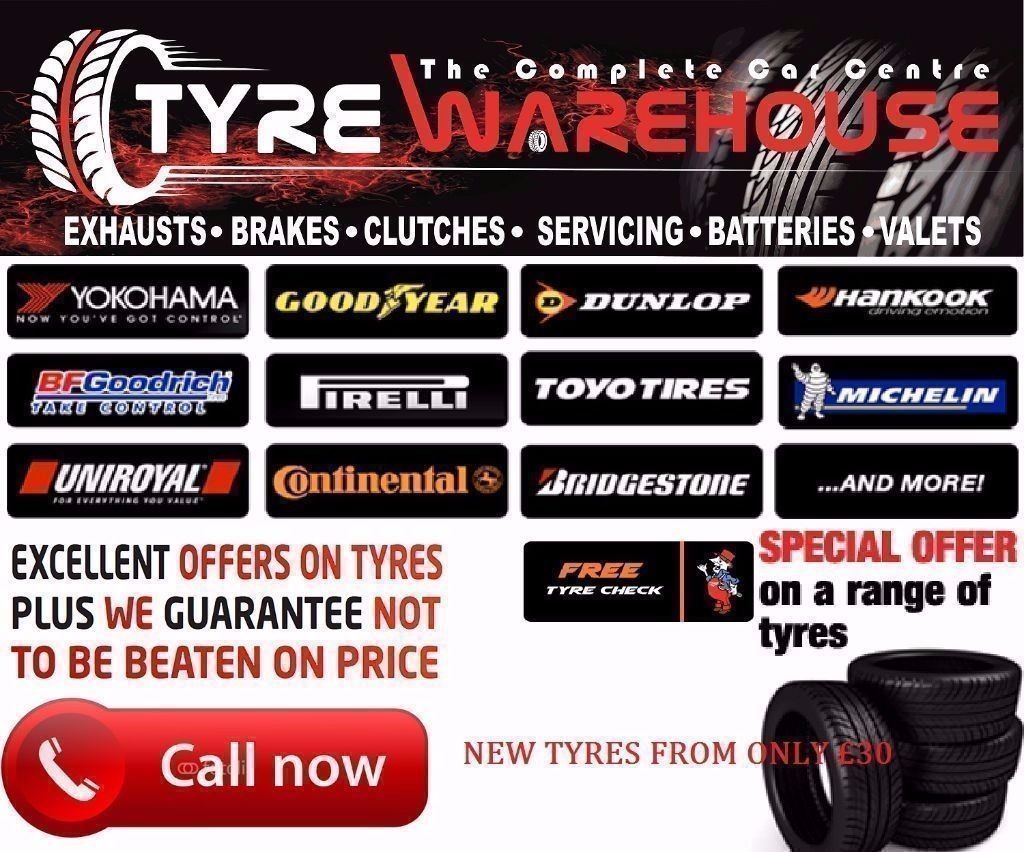 AUGUST SPECIAL BRAND NEW 175 65 14 TYRES BALANCED AND FITTED