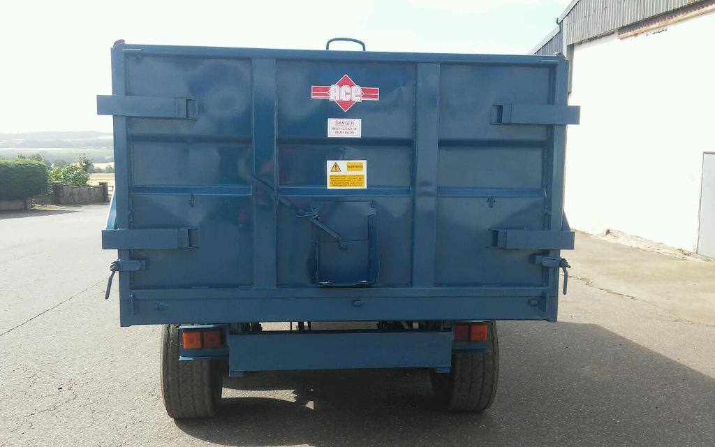 10 ton AS Marston grain trailer