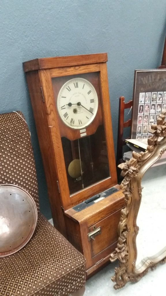 antique harland and wolf clock