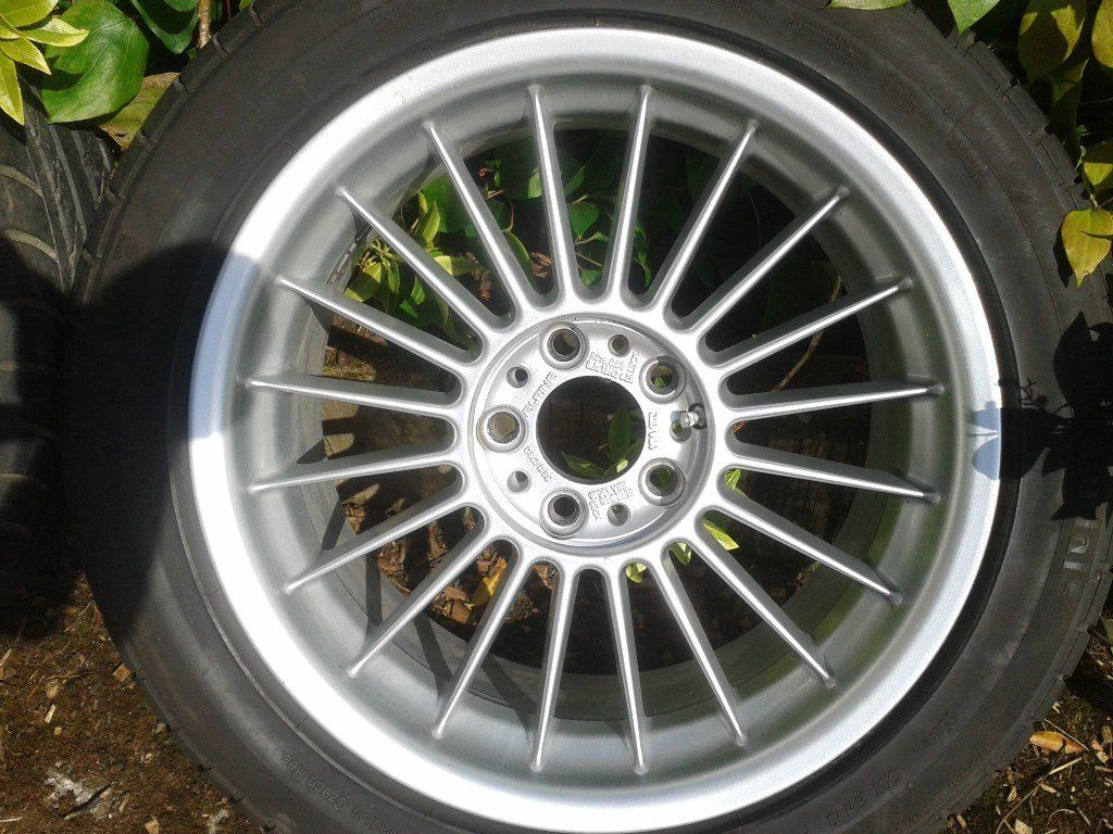 bmw e39 5 series alpina b10 v8 18 inch alloy wheels and good tyres