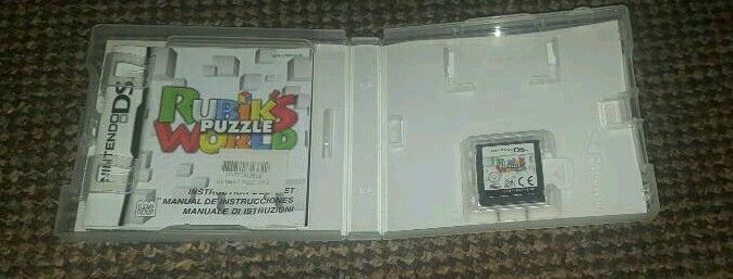 Rubiks puzzle world DS game
