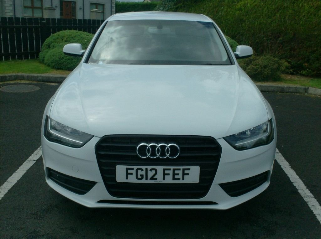 2012 Audi A4 2.0Tdi, New Model, in White, half leather