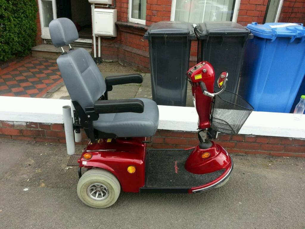 3 wheeled mobility scooter