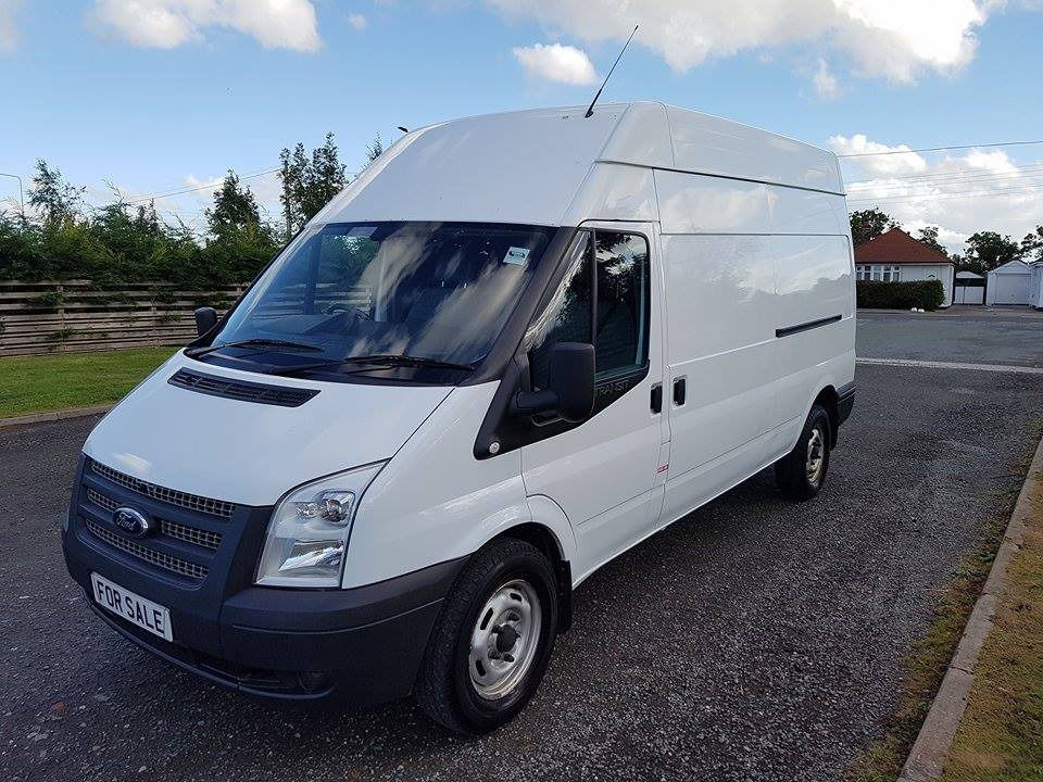 NO VAT 2013 13 FORD TRANSIT 2.2 LWB HIGHTOP RWD T350, PX WELCOME ONE OWNER FROM NEW, LONG MOT