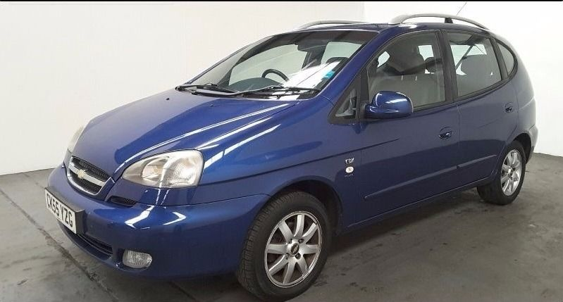 2005 CHEVROLET TACUMA CDX PLUS BLUE 2.0 PETROL 5 DOOR MANUAL