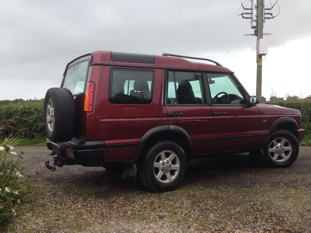 2002 LAND ROVER DISCOVERY 2 TD5 GS Automatic. Diesel, 2,495 cc