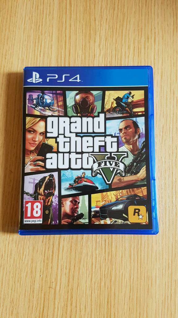 Swap GTA V for Uncharted 4 PS4