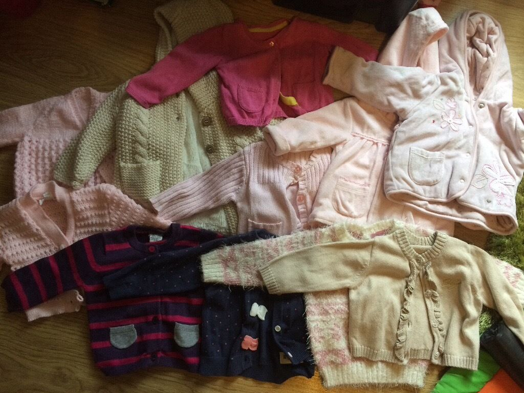 Girl 3-6m jackets and cardigans