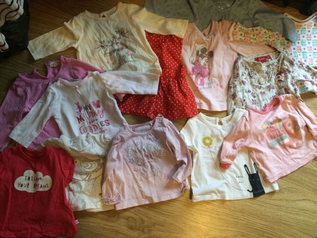 Girls 3-6month tops