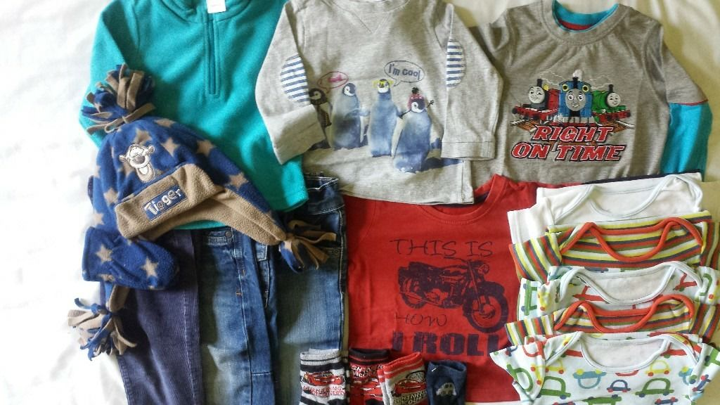 Boy's Clothing Bundle 12 - 18 Months