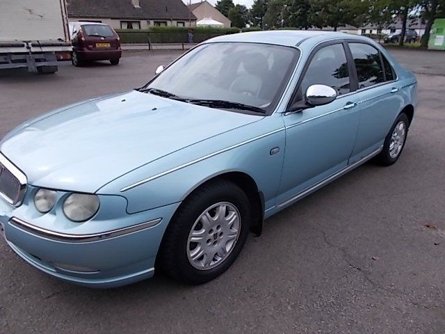 ROVER 75 2.0 CONNOISSEUR DIESEL SALOON 03 REG MOT MAY 2017