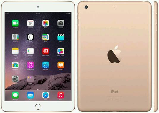 iPad mini 3 Gold New and Sealed without box