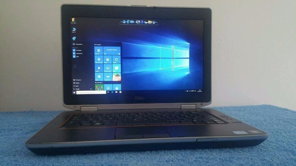 "AS NEW Dell Latitude E6420 14"" Screen HDMI Intel Core i5 2.50 GHz 8GB RAM 250GB HDD Tablet Laptop PC"