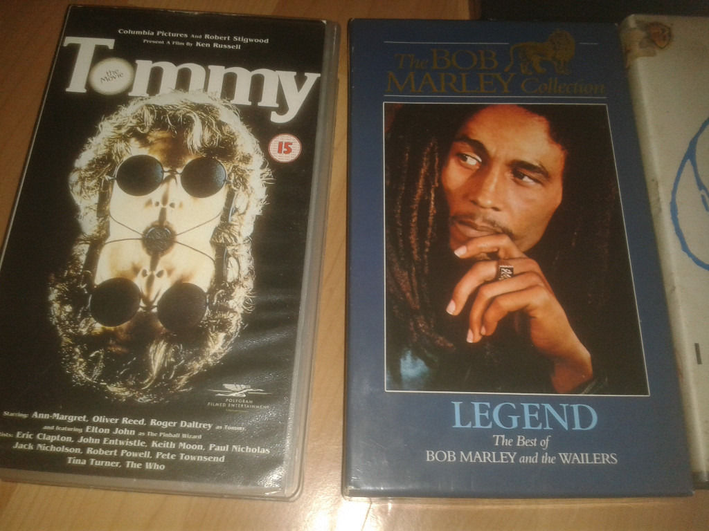 Original VHS Music films/Concerts plus Various Original Cassettes.See description for full list