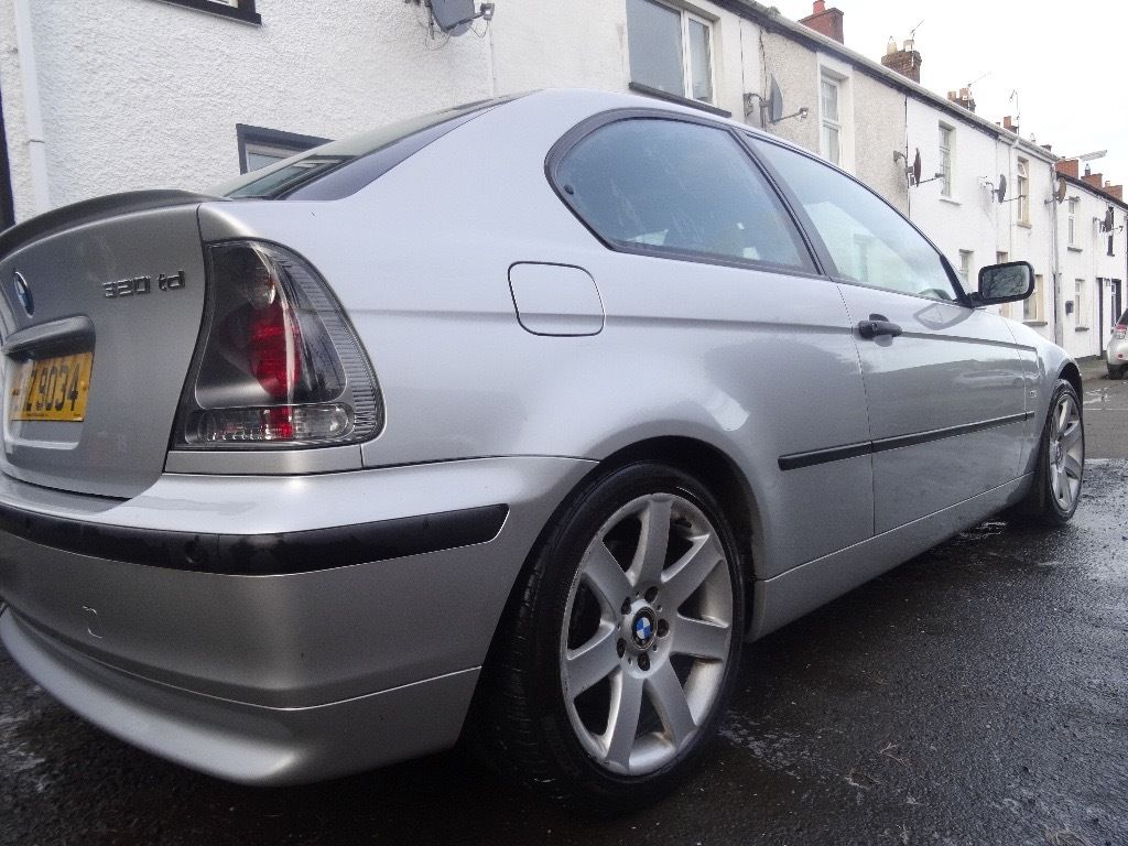 BMW 3-series 320 TD Compact diesel coupe - powerful economical luxury with full MOT