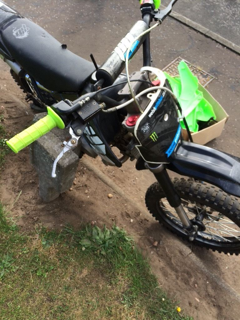 Stomp 140 big wheel pitbike spares or repair