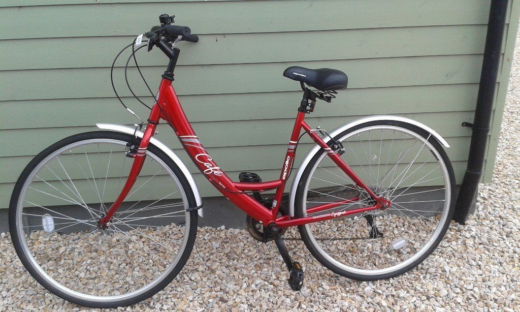 Apollo Cafe Womens Hybrid Bike 19 Brand New Condition London