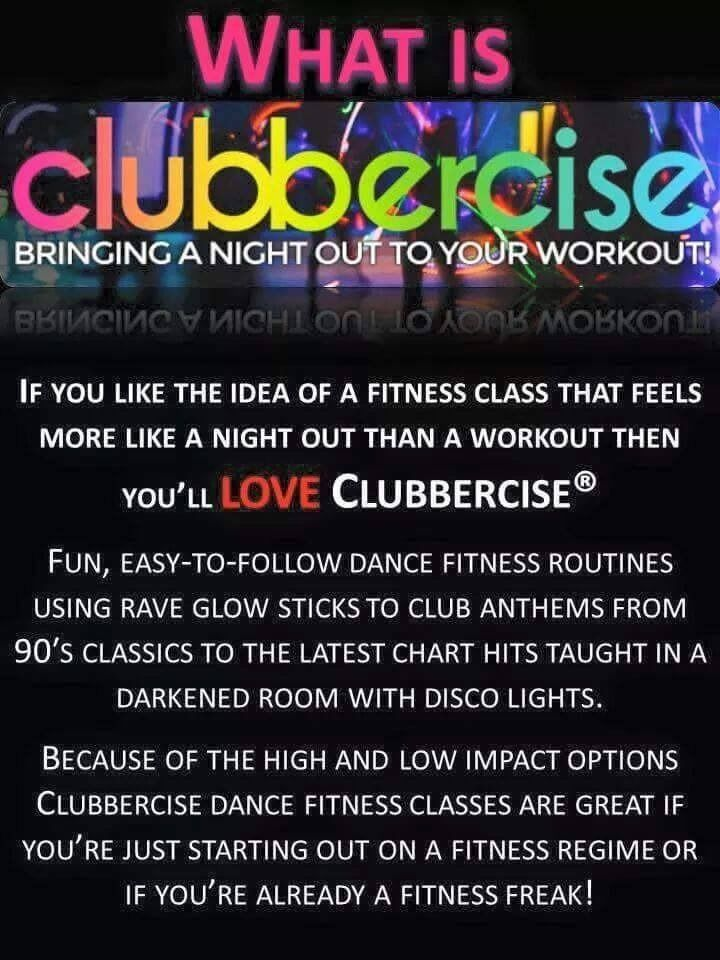 Clubbercise - Easy to follow dance routines to club classics from 90's to present