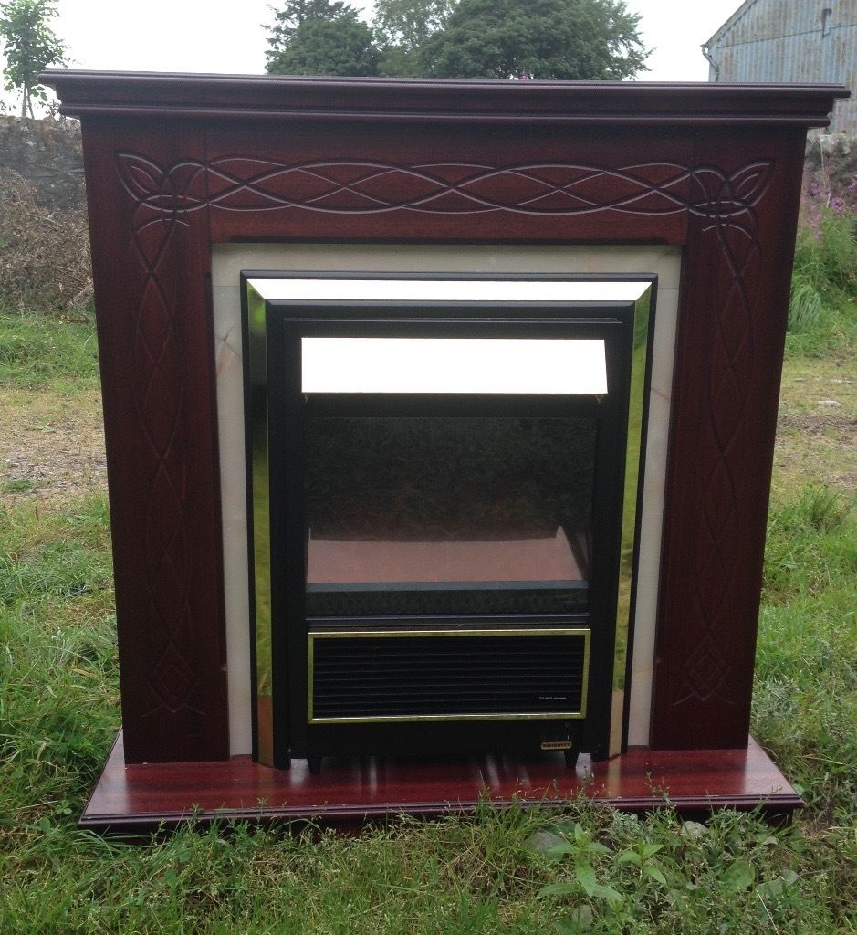 Suncrest Electric fire with surround