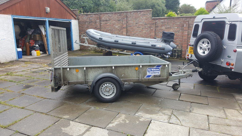 2015 Ifor Williams single axle braked GD85 trailer