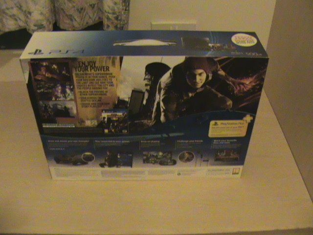 PS4 bundle new sealed .