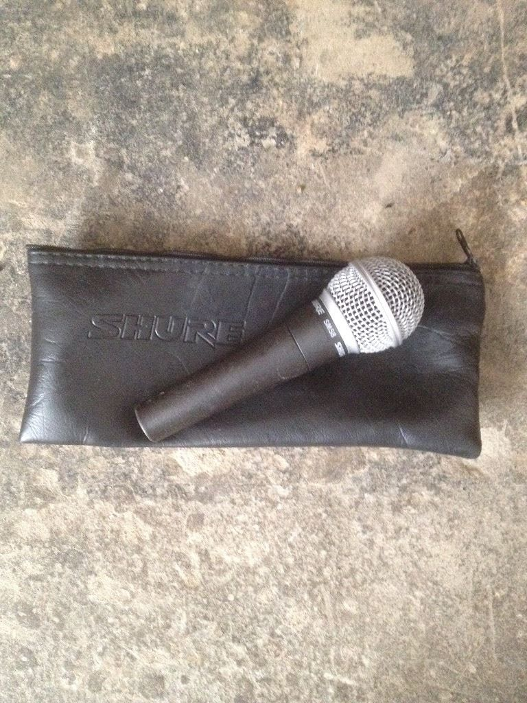 Shure SM58 with brand new grill