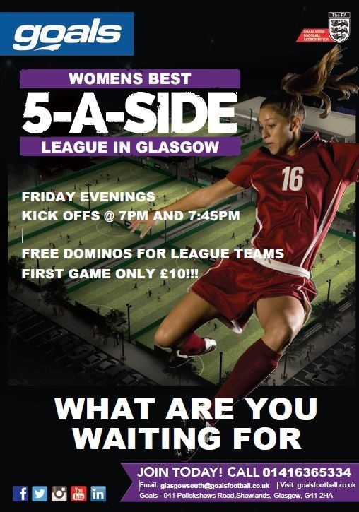 5aside Ladies league teams wanted!!