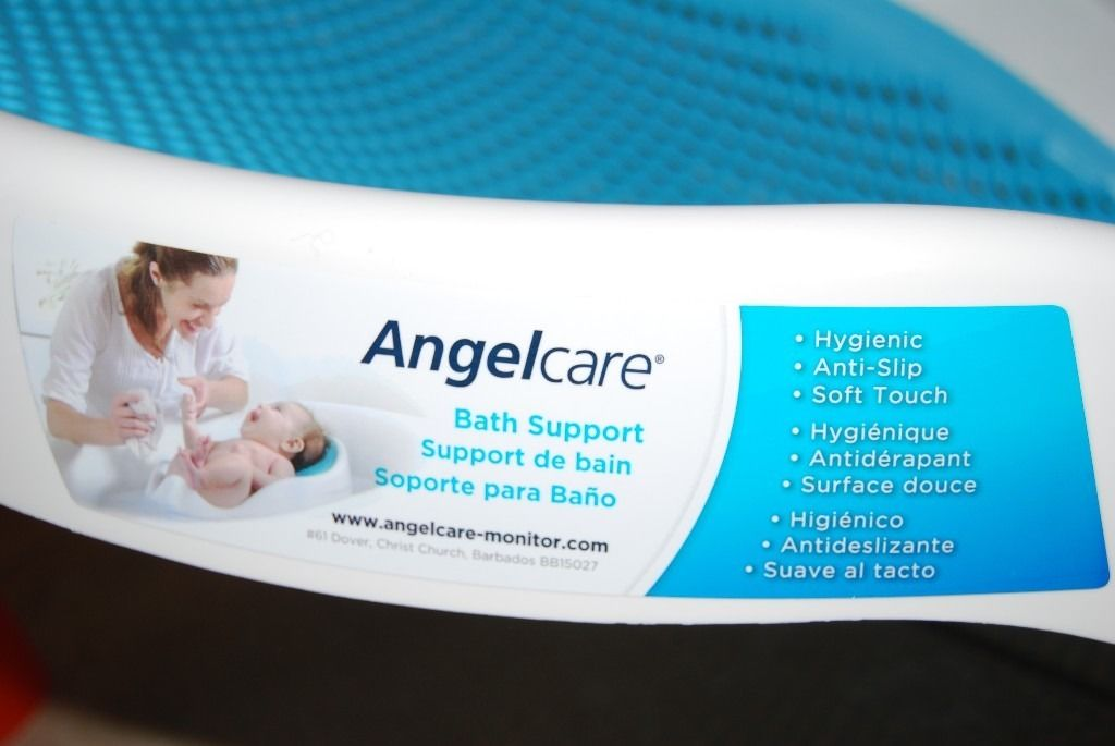 Angelcare Soft Baby Bath Support - Blue - **NEW**