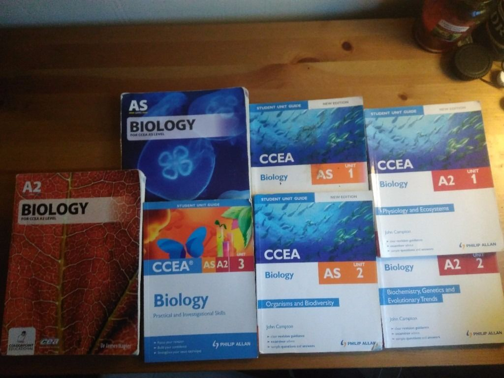 A level biology books