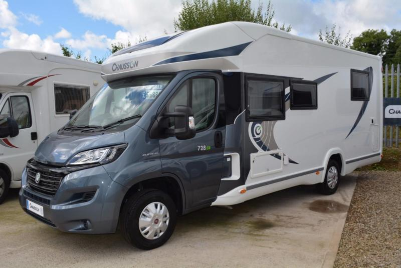 2016 MODEL Chausson 728EB WELCOME 4 BERTH MOTORHOME FOR SALE