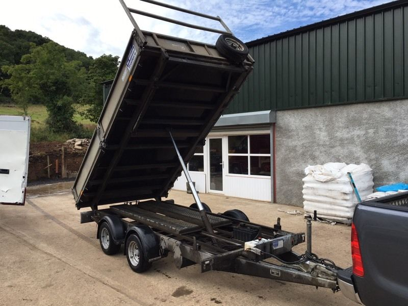 Ifor Williams tipper 12x6,6