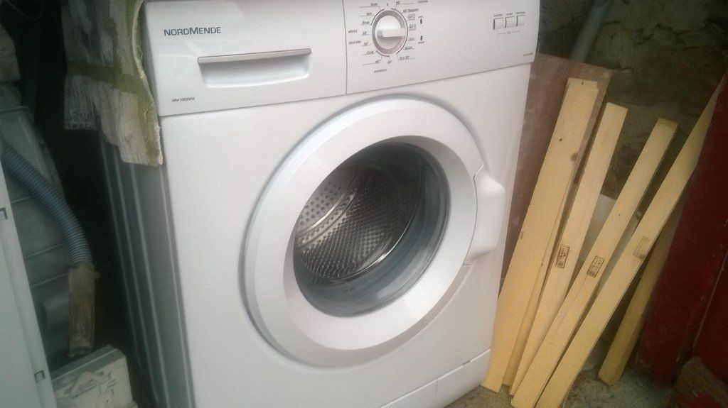 washing machine working 100%