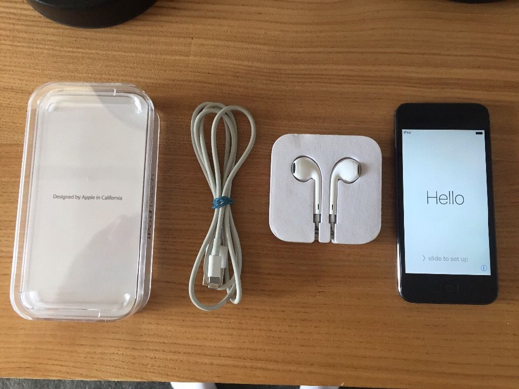 Brand New iPod Touch 6th Generation 16GB Black