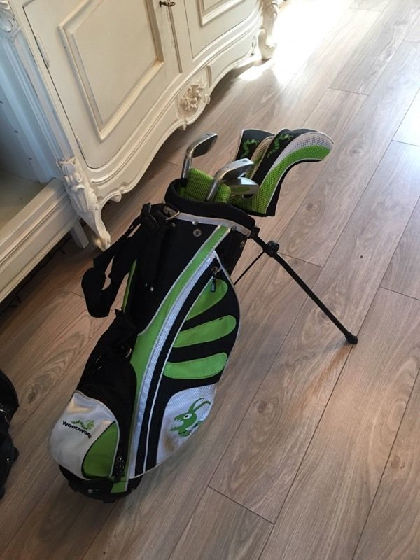 Junior Golf Club set, approx age 7-9 years